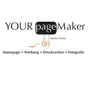 YOUR pageMaker <br/> <h6>Homepage • Werbung • Drucksachen • Fotografie</h6>
